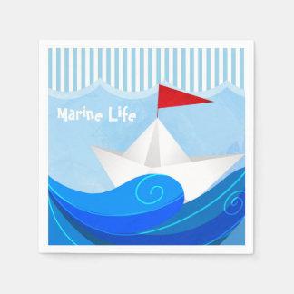 Paper Boat napkins
