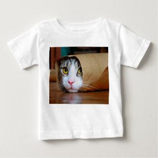 Paper cat - funny cats - cat meme - crazy cat baby T-Shirt