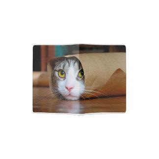 Paper cat - funny cats - cat meme - crazy cat passport holder