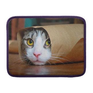 Paper cat - funny cats - cat meme - crazy cat sleeves for MacBook air