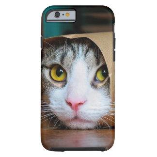 Paper cat - funny cats - cat meme - crazy cat tough iPhone 6 case