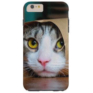Paper cat - funny cats - cat meme - crazy cat tough iPhone 6 plus case
