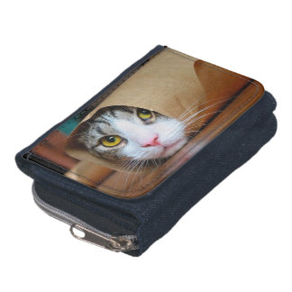 Paper cat - funny cats - cat meme - crazy cat wallets