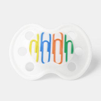 paper clip design pacifier
