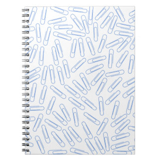 Paper Clips Spiral Note Book