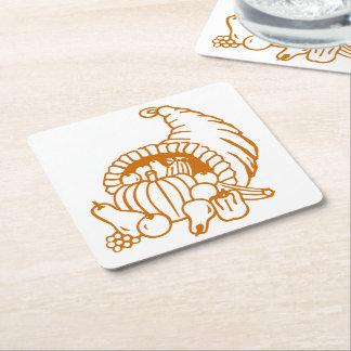 Paper Coaster - Horn of Plenty