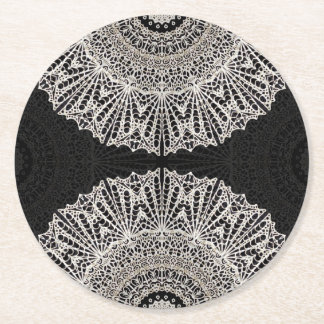 Paper Coaster Mandala Mehndi Style G384