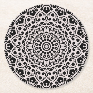 Paper Coaster Tribal Mandala G385