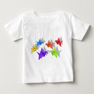 Paper cranes baby T-Shirt
