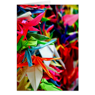 Paper Cranes Note Card
