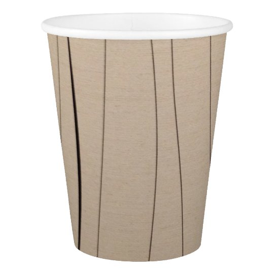 Paper Cup Beige Colour