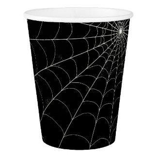 Paper Cups 9oz - Spiderweb + Custom Colors