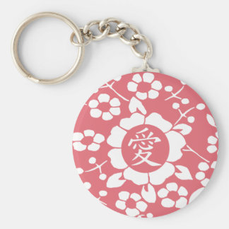 Paper Cut Flowers • Lovely Pink Keychain