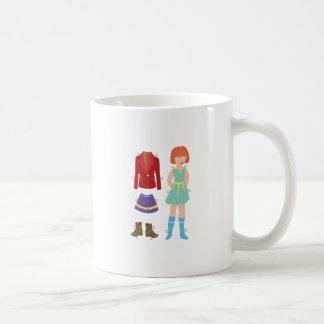 Paper Doll Coffee Mug