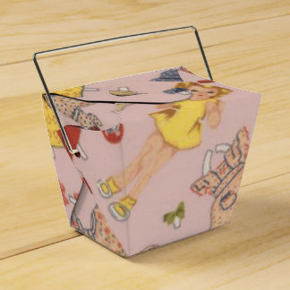 paper doll favor box