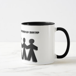 Paper Doll Friendship Mug