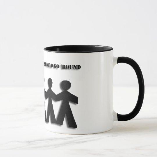 Paper Doll Friendship Mug