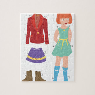 Paper Doll Jigsaw Puzzle
