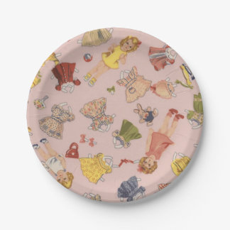 Paper Doll Paper Plates