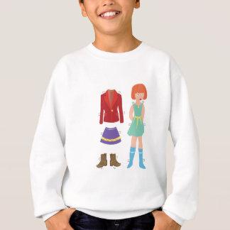 Paper Doll Sweatshirt