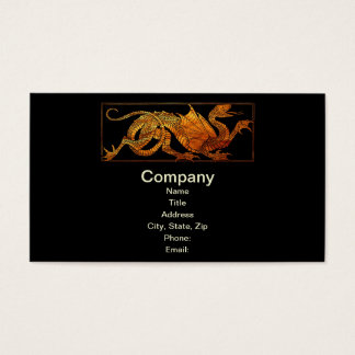 Paper Dragon Business Card