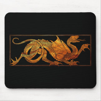 Paper Dragon Mouse Pad