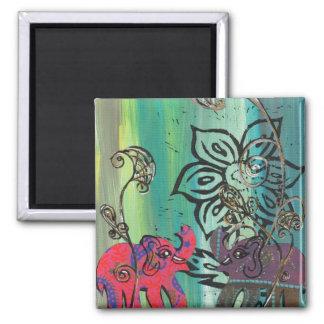 Paper Elephants Magnet