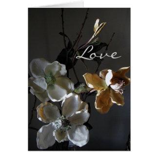 Paper Flowers Series Card