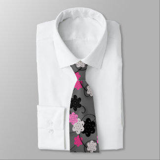 Paper Flowers Tie