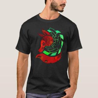 Paper fox crest T-Shirt