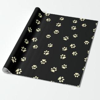 Paper gift chechmate Legs Beige/Black