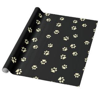 Paper gift flax Legs Beige/Black