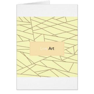 Paper greeting : Original art Card