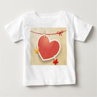 Paper heart shirt