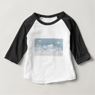 Paper Houses Row Baby T-Shirt