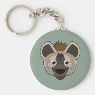 Paper Hyena Basic Round Button Keychain