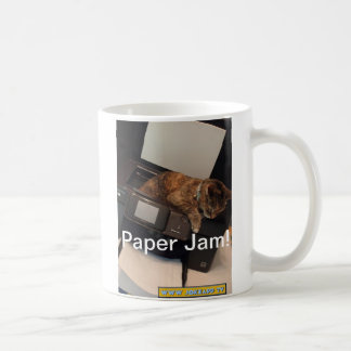 Paper Jam coffee Mug   by Jokeapptv tm