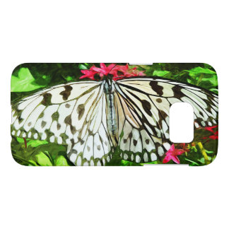 Paper Kite Butterfly Abstract Impressionism Samsung Galaxy S7 Case