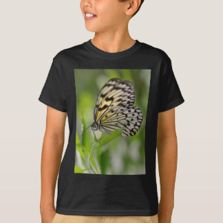 Paper kite butterfly on leaf T-Shirt