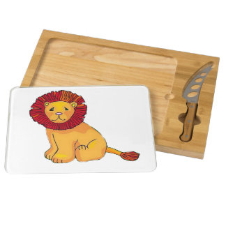 Paper Lion Round Cheeseboard