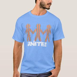 paper men cut out t-shirt