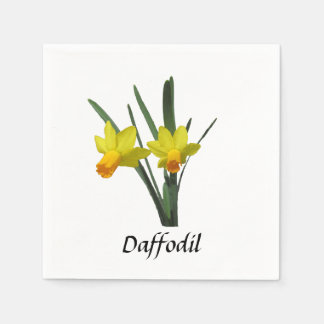 Paper Napkin - Daffodil