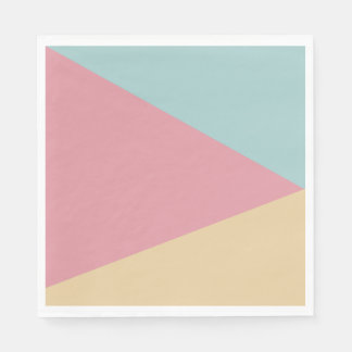 Paper napkins Abstracts Trio Pastels