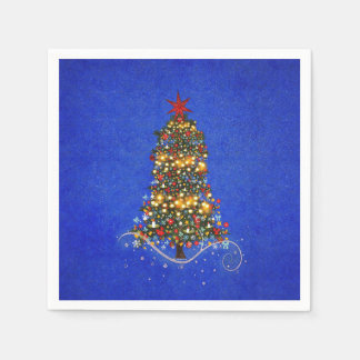 Paper Napkins Christmas Tree