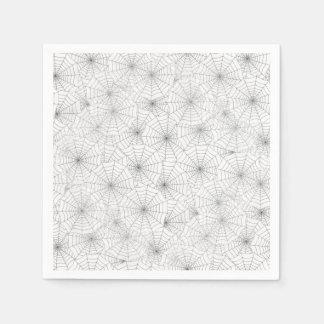 Paper napkins cocktail Cobwebs