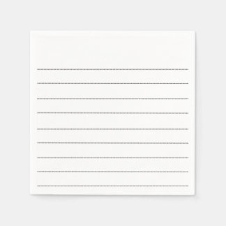 Paper napkins Lines Points