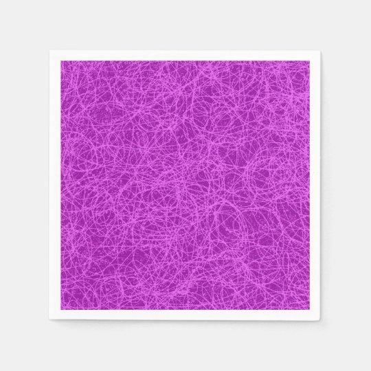 Paper Napkins Purple Network