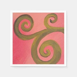 Paper Napkins- Sunset Swirl Napkin