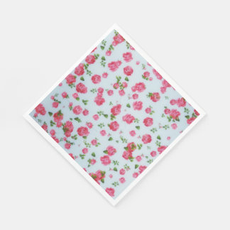 Paper Napkins  Sweet Roses Painting