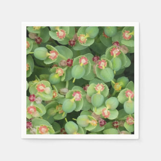 Paper Napkins- Tiny Green Flora Paper Napkin